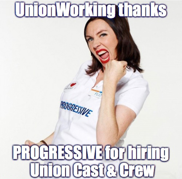 UnionWorking thanks Progressive
