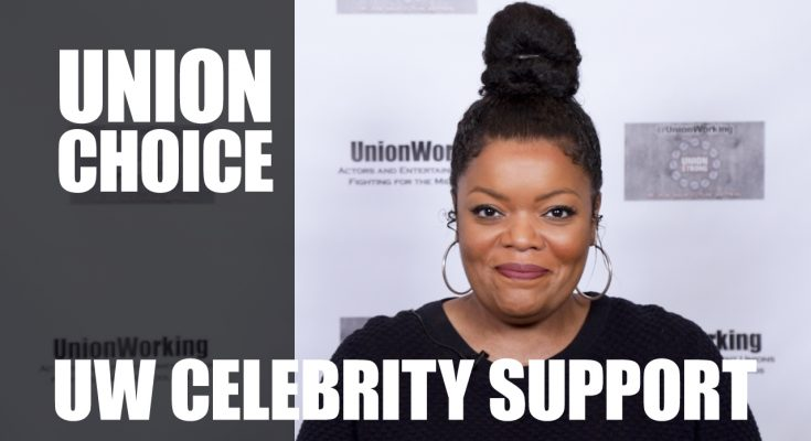 CelebSupport Union Choice Yvette Nicole Brown