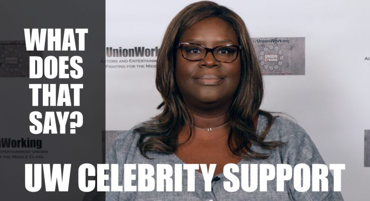 CelebSupport Retta What does that say?