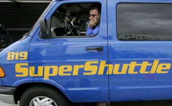 SuperShuttle driver